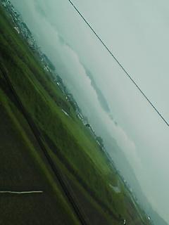 梅雨前線、北上中