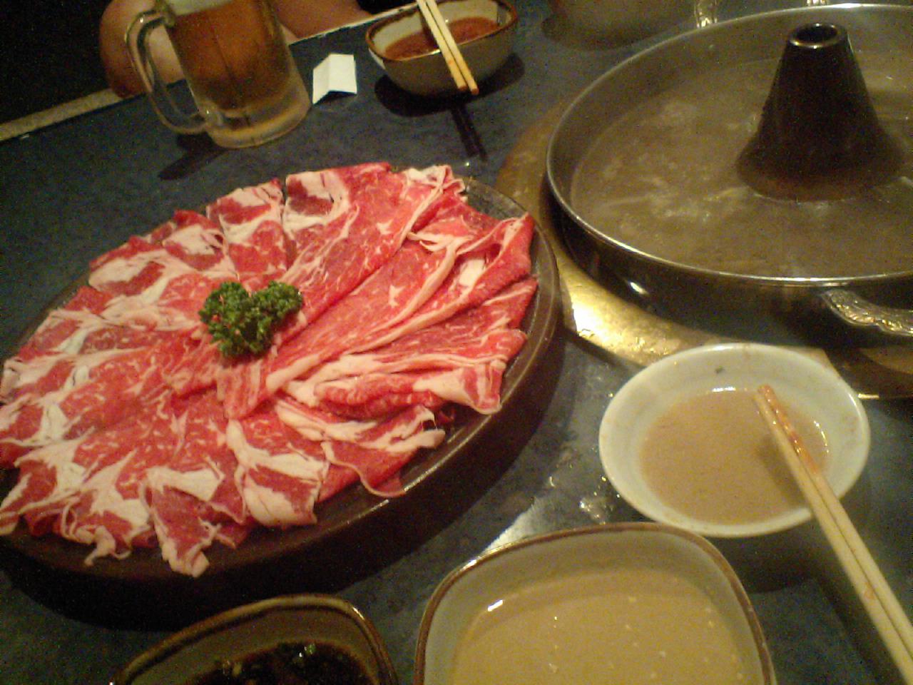 肉は飲み物