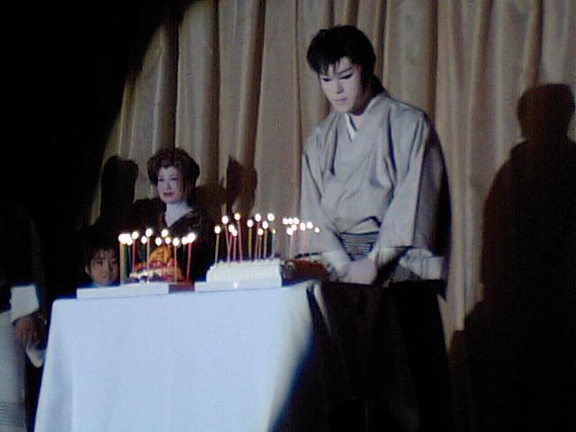 役者さんの誕生日