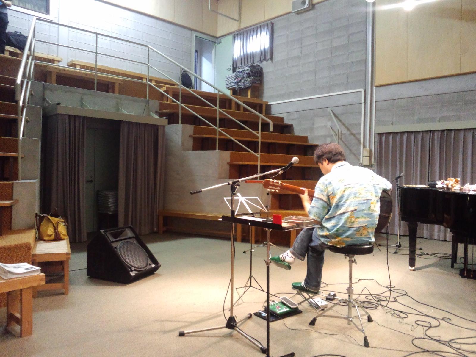 坂元昭二ライブ in スタジオ・ザ・ブーン(総社市中央)