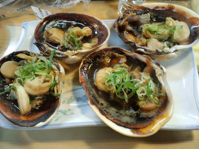 Drinking at a sushi restaurant all by myself...