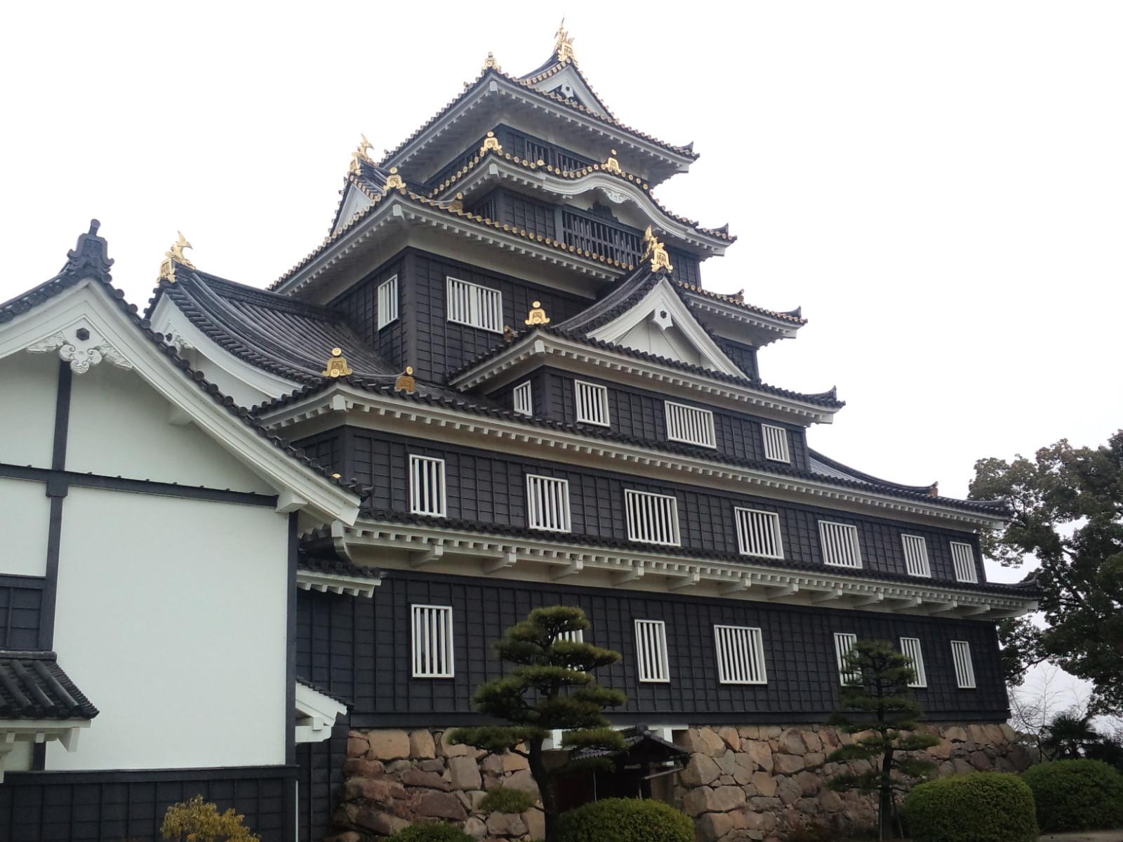 Sightseeing in Okayama (1)