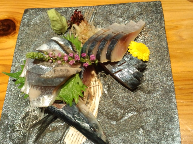 A grilled eel...