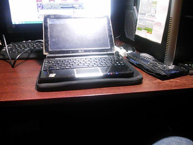At work.